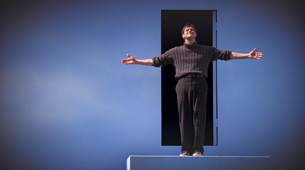 analysis of the truman show Free essay: what i aim to do with this rhetorical analysis is bring forth to the reader a deeply immersive look at the rhetorical concepts present in the.